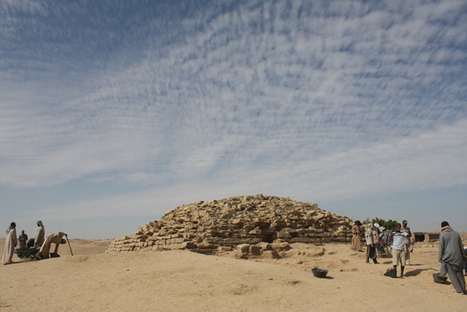4,600-Year-Old Step Pyramid Uncovered in Egypt | Egyptology and Archaeology | Scoop.it