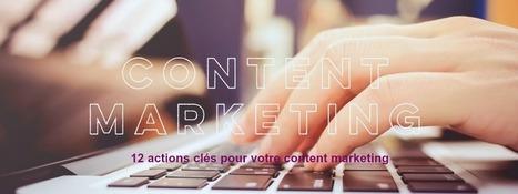 12 actions essentielles pour votre content marketing - Jacques Tang | Stratégie digitale et médias sociaux | Scoop.it