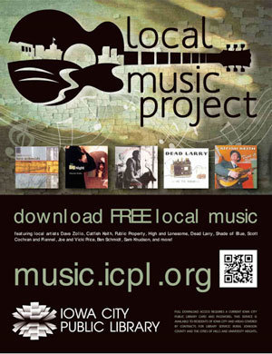 Iowa City Public Library's Local Music Project   Public Libraries of the Future   Scoop.it