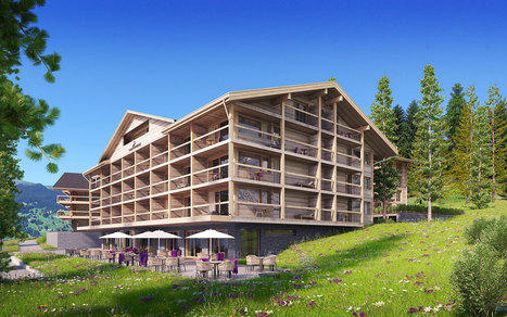 New 5* Giardino hotel opening in Grindelwald on winter 2017-2018 | Alpine hotels | Scoop.it