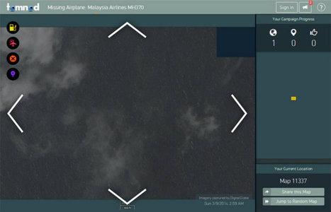 Participez aux recherches du Boeing disparu grâce à une plateforme collaborative d'imagerie spatiale | Cabinet de curiosités numériques | Scoop.it