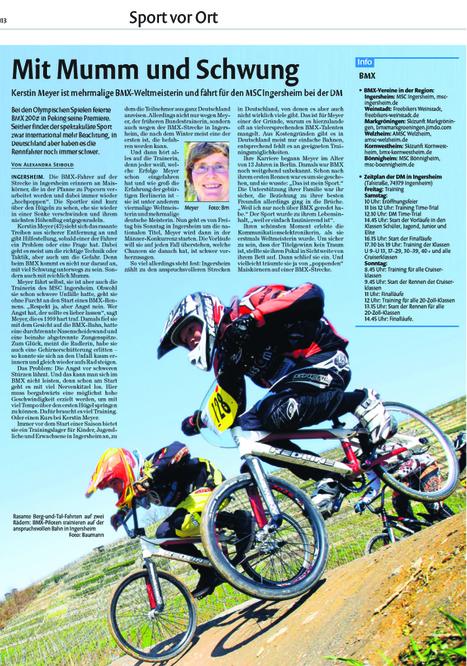 Vorboten der DM | BMX-Racing News Blog | Scoop.it
