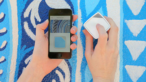Capture the Color of Anything with the SwatchMate Cube - Design Milk | Fresh Chinese | Scoop.it