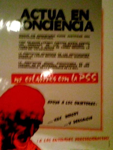 Cumpleaños alegre y combativo - 25 años de INSUMISIÓN - Ganó la Desobediencia Civil - Murcia | Bruno Jordán | Scoop.it