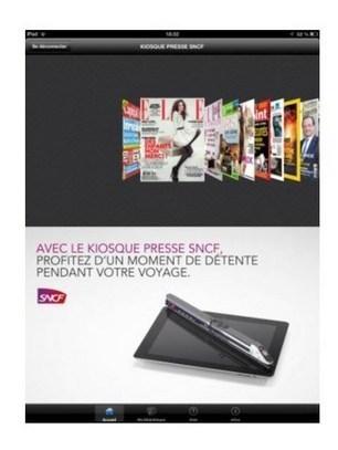 La presse numérique gratuite pour les clients TGV Pro | Médias sociaux et tourisme | Scoop.it