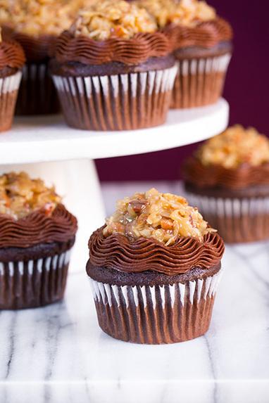 #Recipe - German Chocolate Cupcakes   Food & Drink   Scoop.it