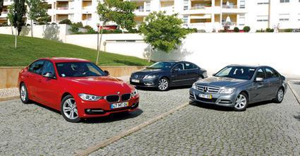 «Carro de serviço»: BMW 318d | Mercedes C180 | VW CC | Motores | Scoop.it