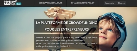 My New Start up, entre crowdfunding et private equity | BUZZ MY BRAND ! | Scoop.it