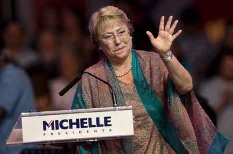 Chili : le retour deMichelle Bachelet   francisco-Muzard-Chili   Scoop.it