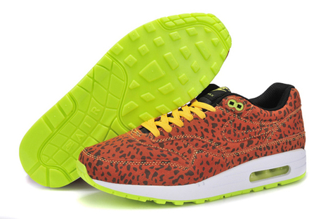 Running Shoes Air Max 1 FB Leopard Bright Citrus White Fresh Lime -Mens | new and share style | Scoop.it
