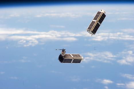 NanoRacks CubeSats Deployed From Station | Aerospace Control Software | Scoop.it