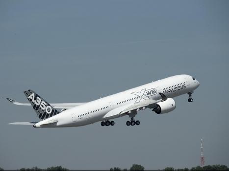Airbus A350: la flotte d'essais est au grand complet - Air&Cosmos   Aéro   Scoop.it