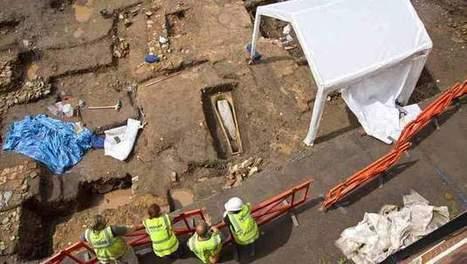 Dubbele doodskist ontdekt op begraafplek Richard III | goossens levi geschiedenis | Scoop.it