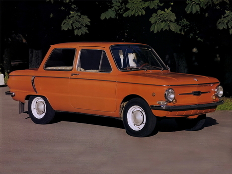 Soviet Cars Were Weird: ZAZ Zaporozhets 968 | Strange days indeed... | Scoop.it