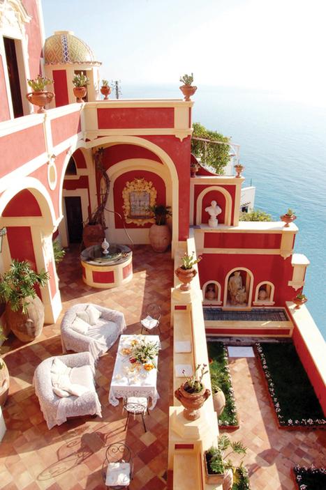 Luxurious Villa Dorata perched on the Amalfi Coast   Holidays and Travel destinations   Scoop.it