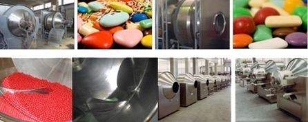 Conventional Coating Machine : Conventional Coating, Sugar Coating Pan, Confectionery Coating Pan, Chewing Gum Coating Machine, Lab Auto Coater | Conventional Coating Machine | Scoop.it