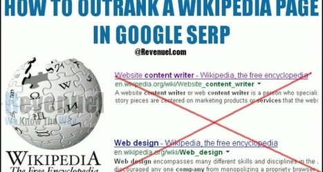 Outrank Wikipedia Pages - A Report and Guidelines | Ninja SEO and SMO Tips | Scoop.it