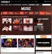 Canal+.fr lance le site Music en partenariat avec Spotify - Offremedia | MUSIC:ENTER | Scoop.it