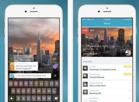 Following Acquisition, Twitter Launches Periscope — Live Video App for iOS | Social Media Useful Info | Scoop.it