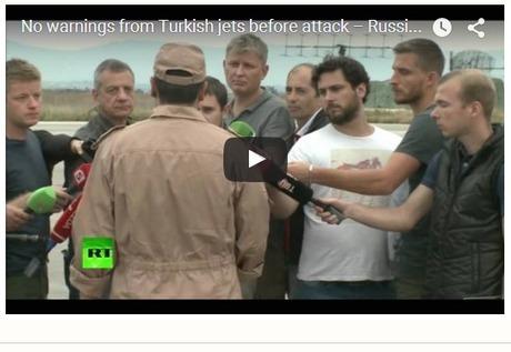 CNA: Piloto ruso rescatado: No hubo advertencias de aviones turcos antes del ataque | La R-Evolución de ARMAK | Scoop.it