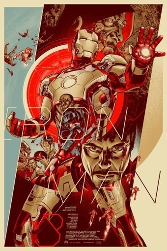 Check out these Iron Man 3 poster art from Mondo - Nerd Reactor | Spread the Nerd! | Scoop.it