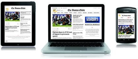 How the Boston Globe built an all-in-one website, Web app and mobile site | Online News Squared | Scoop.it