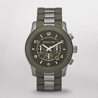 beccagpe: MICHAEL KORS WATCH GREEN MK8202 For Sale | fashion | Scoop.it