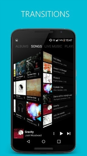 Gérer votre bibliothèque musicale sous Android avec l'appli Pixel Music Player | Freewares | Scoop.it