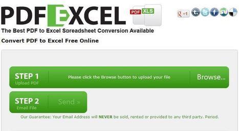 Free and Simple PDF to Excel Conversion - Online Tool | IT og  undervisning generelt _ Morten Ulstrup | Scoop.it