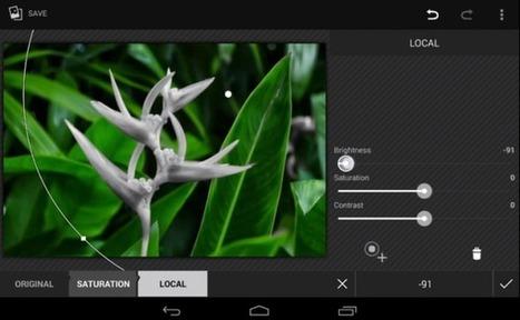 [PHOTOGRAPHIE] Android 4.4 intègre un puissant éditeur photo - Le Journal du Geek | Communication Web | Scoop.it