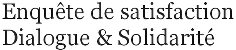 Votre avis nous intéresse ! - Dialogue & Solidarité | publiessai DS | Scoop.it