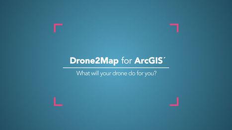 DRONE2MAP: Drones en ArcGIS - Territorio Geoinnova - SIG y Medio Ambiente   Agricultura   Scoop.it