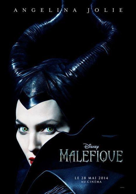 Angelina Jolie : L'affiche de Maléfique ! | Les nouvelles du CDI | Scoop.it