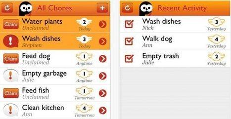 Chorma, divertida aplicación para repartir tareas entre amigos o compañeros de piso | 100cia & Cía | Scoop.it