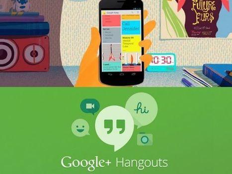 Google Hangouts se pone al día y te contamos las novedades introducidas   Mis intereses   Scoop.it