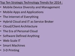Gartner: Top 10 Strategic Technology Trends For 2014 | Instructional Design | Scoop.it