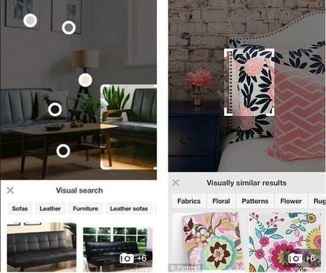 Pinterest lance la détection automatique d'objets dans les Pins | Chiffres et infographies | Scoop.it