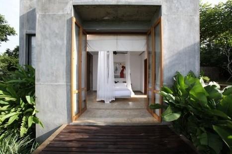 Coconut Beach Villa in Sri Lanka | Interior design | Scoop.it