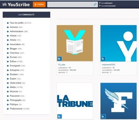 Lecture numérique et abonnement. Un débat organisé par YouScribe - Pole Documentation | Objectif concours | Scoop.it