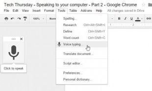 Tech Thursday: Speaking to your computer Part 2: Free speech recognition with Google Docs | Dyslexia Action | Using Google Drive in the classroom | Scoop.it