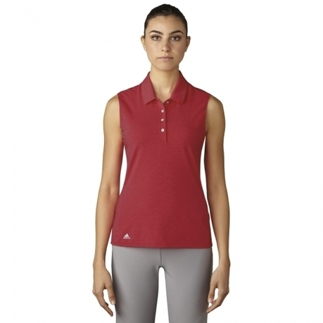 Adidas Ladies Essentials Cotton Hand Sleeveless Golf Polo Shirts - Assorted Colors | Golf Apparel | Scoop.it