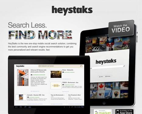 HeyStaks - One-stop mobile social search | Social media kitbag | Scoop.it