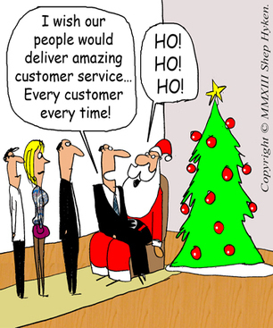 """A """"Holiday"""" Wish for You: Every Customer Receives Amazing Customer Service - Business 2 Community   Customer Service Rocks!   Scoop.it"""
