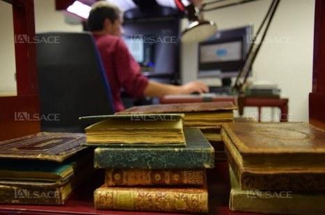 Dans ses sous-sols, la BNU numérise | Veille professionnelle des Bibliothèques-Médiathèques de Metz | Scoop.it