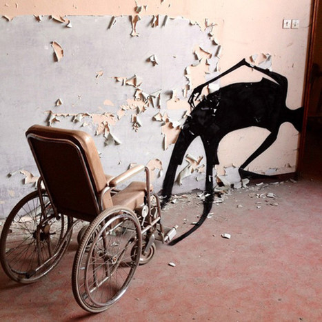 Devoted Street Artist Manages To Make Abandoned Psych Hospital Even ... - Huffington Post | Street Art | Scoop.it