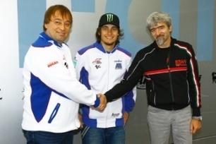 Abraham, Cardion join CRT class for MotoGP 2013 | Crash.Net | Ductalk Ducati News | Scoop.it