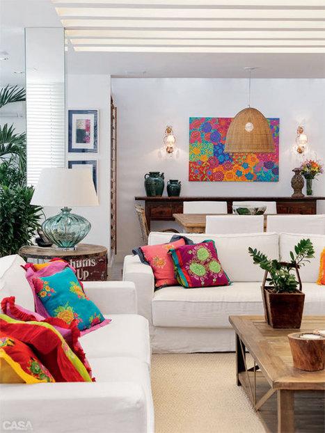 Un appartement coloré à Copacabana | | PLANETE DECO a homes worldPLANETE DECO a homes world | Céka décore | Scoop.it