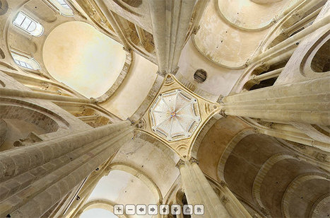 Visite virtuelle : Abbatiale de Conques - Ecliptique | Des liens en Hist-Géo | Scoop.it