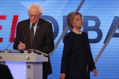 U.S. presidential rivals Clinton, Sanders tied in support among Democrats: poll | USA Elections | Scoop.it