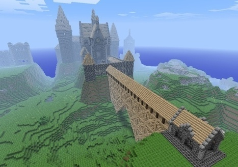 Ordnance Survey Blog » Minecraft: Creating a map of Great Britain | Inquiry Learning at Roxy | Scoop.it